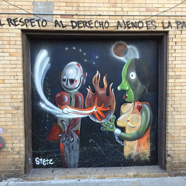 """""""Homage to Artist Rufino Tamayo"""" by Eugene Stetz / O+ Poughkeepsie"""