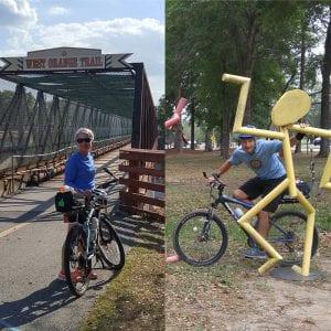 Susan and Bob Chilson — Biking with Art
