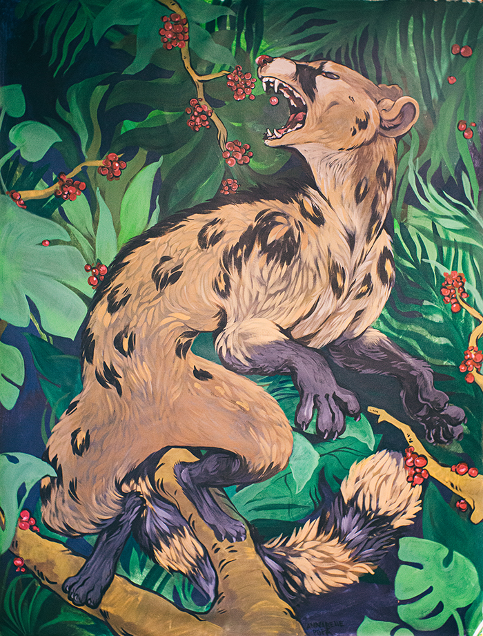 Civet Coffee by Annabelle Popa