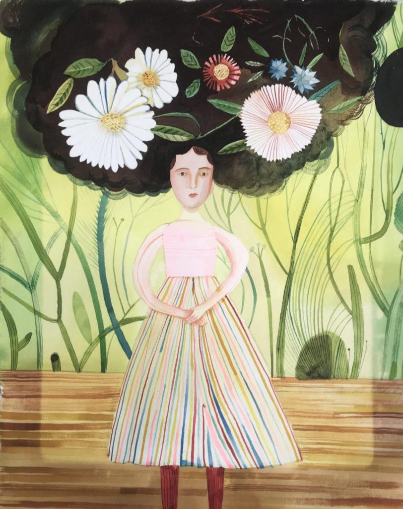 Flower Hair by Giselle Potter