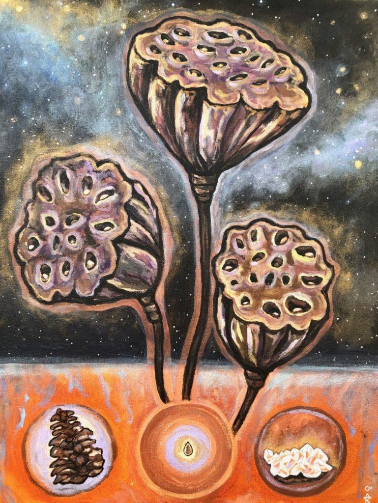 lotus tri-pod